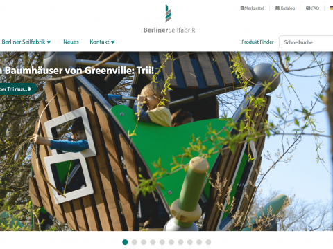Artikelbild von New webpage is online!