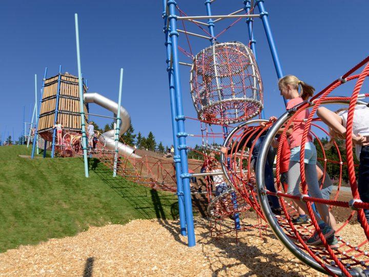 Artikelbild von Aventura – Europe's longest playground structure