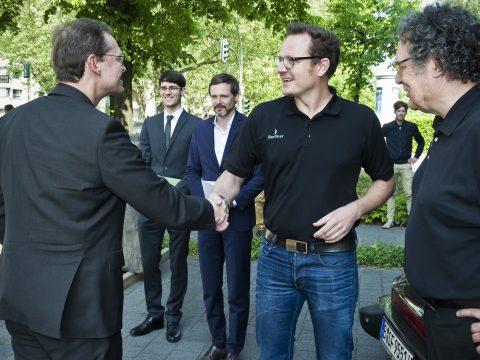Artikelbild von Der Regierende Bürgermeister von Berlin, Michael Müller, zu Besuch bei der Berliner Seilfabrik