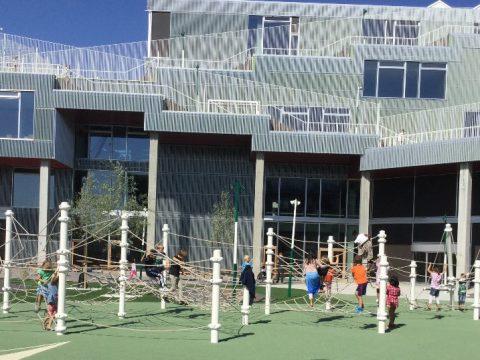 Schulhof – Berliner Seilfabrik – Spielgeräte fürs Leben