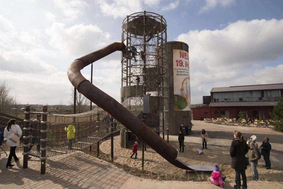 Karls Klettersilo gebaut von der Berliner Seilfabrik