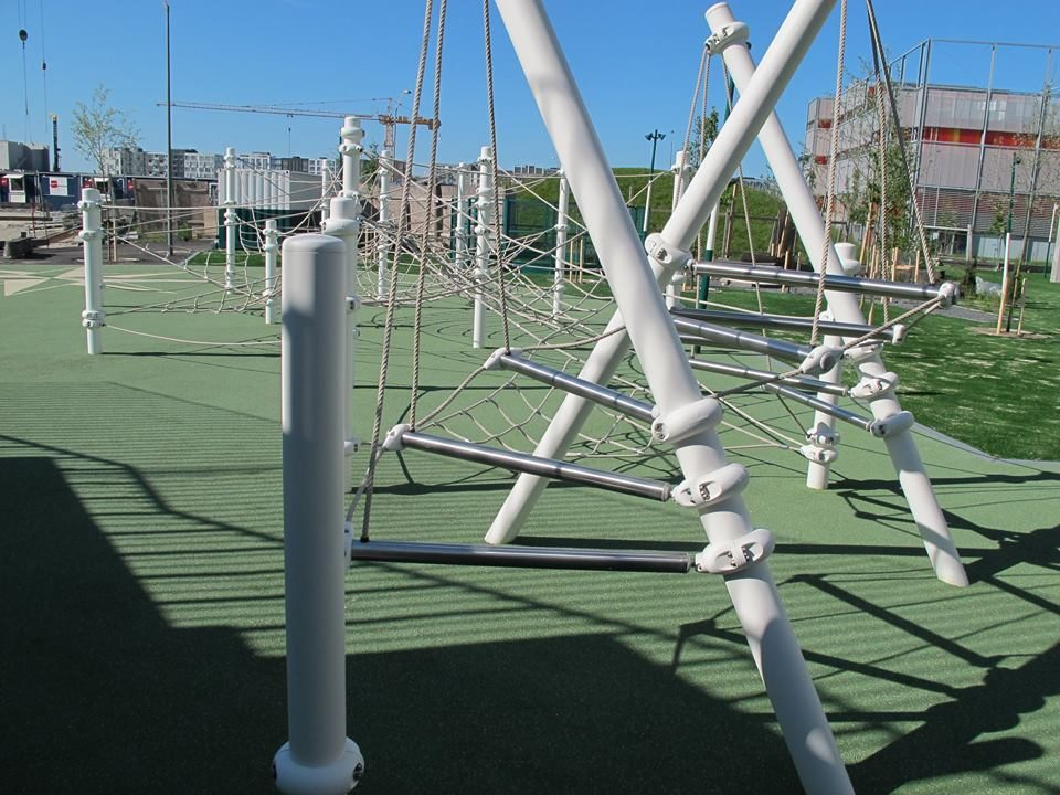 Dachspielplatz - Berliner Seilfabrik – Spielgeräte fürs Leben