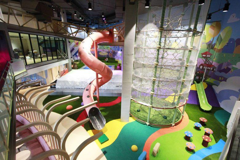 Indoorspielplatz – Berliner Seilfabrik – Spielgeräte fürs Leben