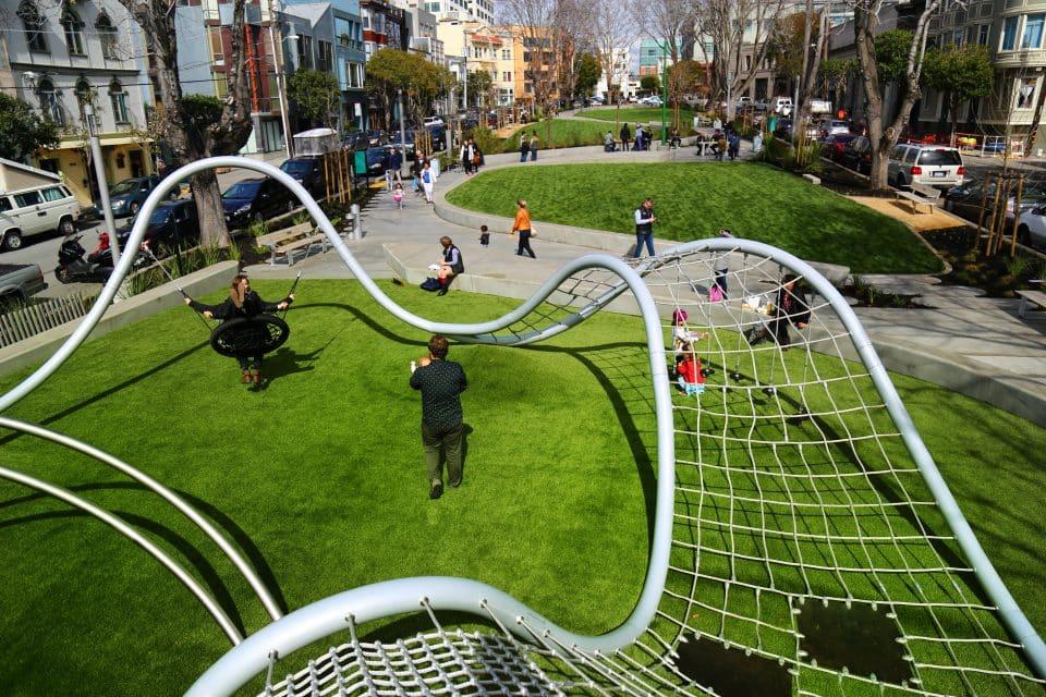 Shout, Flächennetz – Berliner Seilfabrik – Spielgeräte fürs Leben
