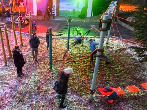 Artikelbild von Bewegungsbaustelle für die Tietzia – Ein neuer Spielplatz für das Familienzentrum