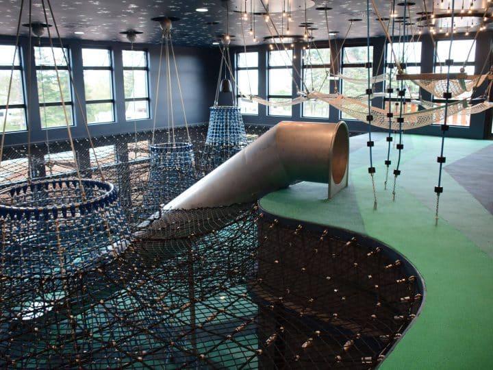 Geoparc de Percé, Berliner indoor playground