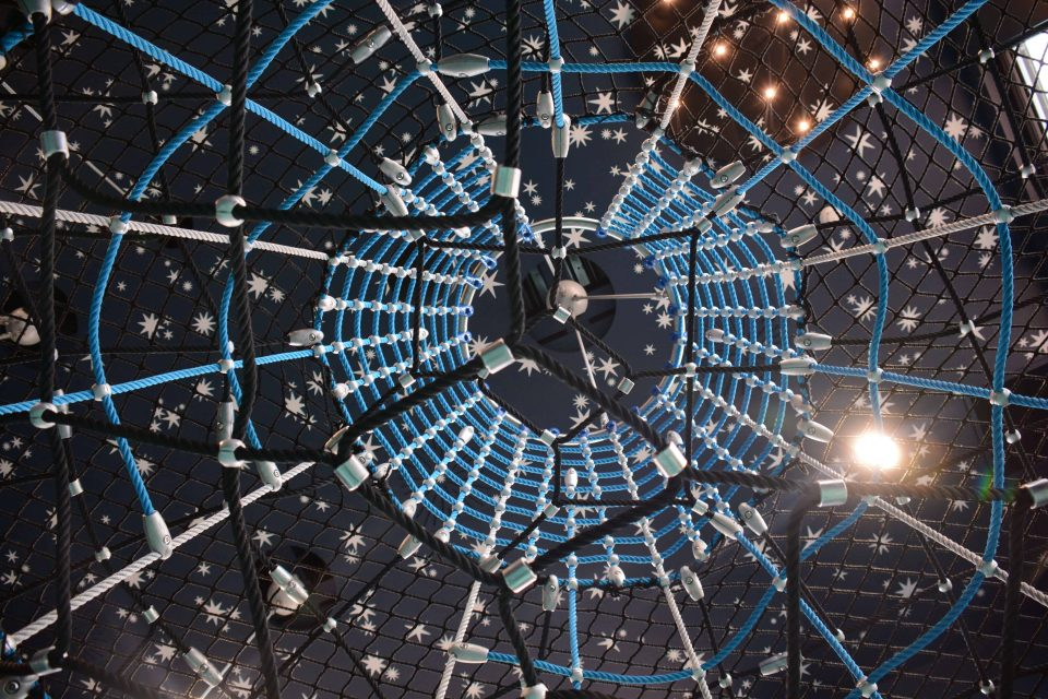 Starry sky - playground, Berliner Seilfabrik