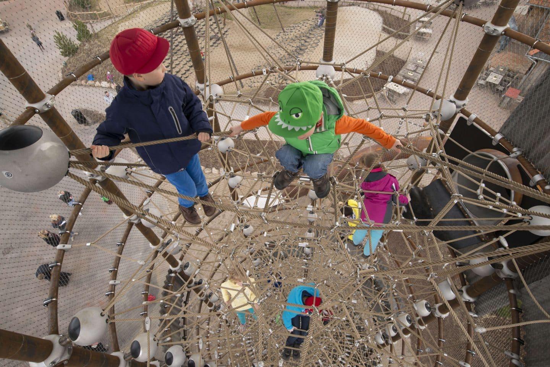 130m³ großes Raumnetz der Berliner Seilfabrik
