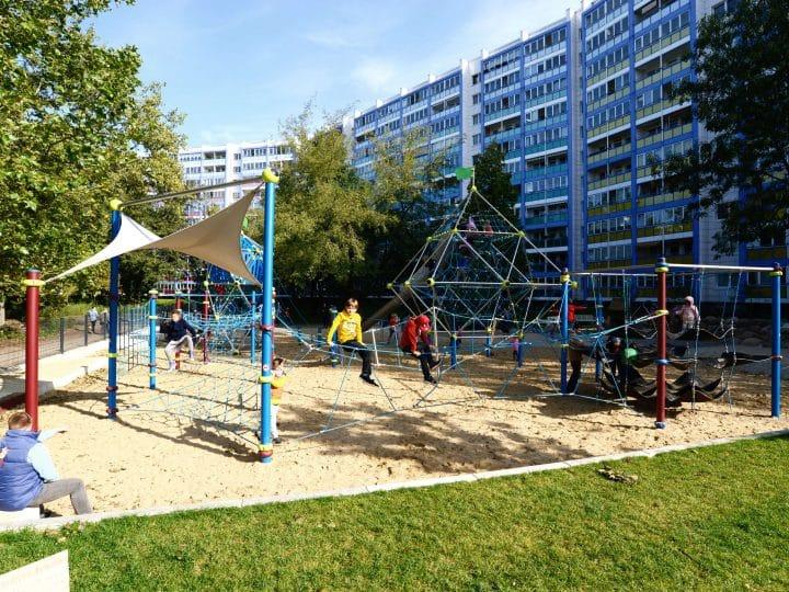 Großer Spielplatz - Berliner Seilfabrik - Spielgeräte fürs Leben