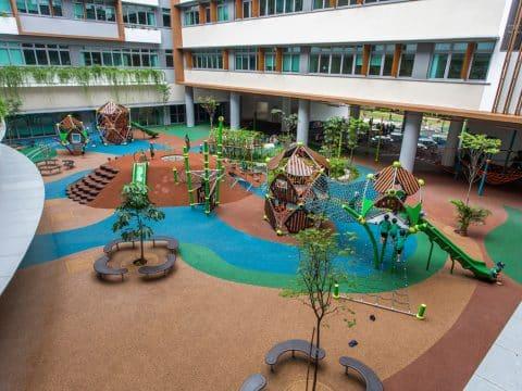 Artikelbild von New School Playgrounds in Singapore
